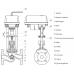 Клапан  паровой ВКРП Ду 15