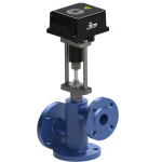 Клапан КСТ-100/65 Б (В) трехходовой смесительный