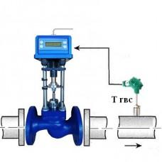 Регулятор температуры ГВС объединенный с клапаном ВКСР Ду 100