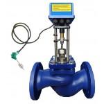 Паровой клапан ВКРП Ду 65 со встроенным регулятором t°