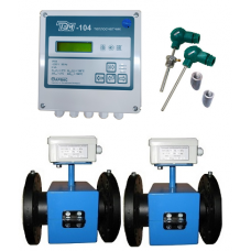 ТЭМ-104-4 Ду 150/150 ПРП+2 термометра Pt100