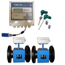 ТЭМ-104М-4 Ду 50/50 ПРП+2 термометра Pt100