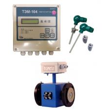 ТЭМ-104-1 Ду 100 ПРП+2 термометра Pt100