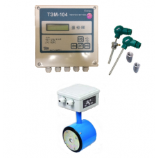 ТЭМ-104-1 Ду 32 ПРПМ+2 термометра Pt100