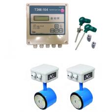 ТЭМ-104-4 Ду 50/50 ПРПМ +2 термометра Pt100