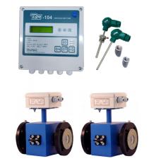 ТЭМ-104-4 Ду 80/80 ПРП+2 термометра Pt100