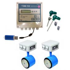 ТЭМ-104М-4 Ду 50/50 ПРПМ+2 термометра Pt100