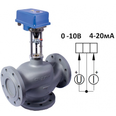 Клапан 3-х ходовой  ВКТР Ду 125 аналоговый