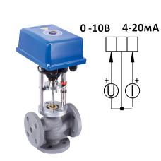 Клапан 3-х ходовой  ВКТР Ду 25 аналоговый