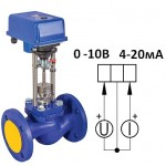 Клапан  паровой ВКРП Ду 25 аналоговый