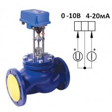 Клапан  паровой ВКРП Ду 65 аналоговый