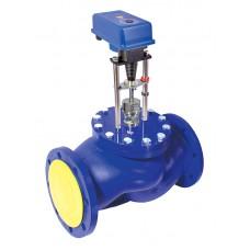 Клапан паровой ВКРП Ду 125 (до +220С Ру 25)